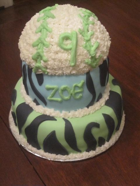Cake It Pretty Happy Birthday Zoe