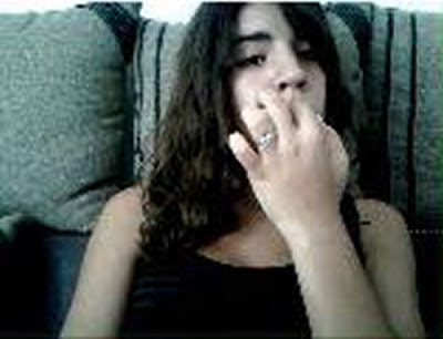 Too many people on chatroulette have a nail biting problem. It's an impulse control disorder! (part two)