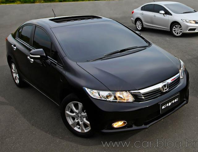 Novo New Civic 2012 EXL - Preço R$ 85.900