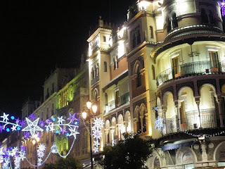 Iluminación navideña - Sevilla 2011