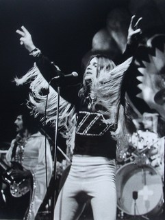 Black Sabbath Ozzy Osbourne on stage 1975