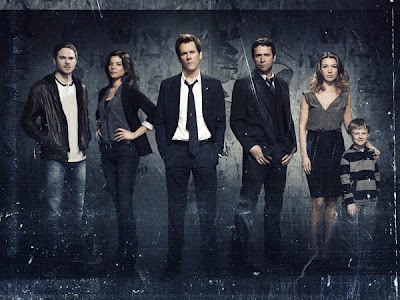 The cast including Kevin Bacon, James Purefoy and Natalie Zea