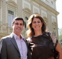 Subsecretario Meio Ambiente, Leandro Coutinho e a Presidente do INEA, Marilene Ramos