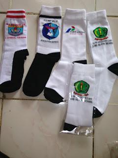 contoh kaos kaki Logo sekolah by agen kaos kaki