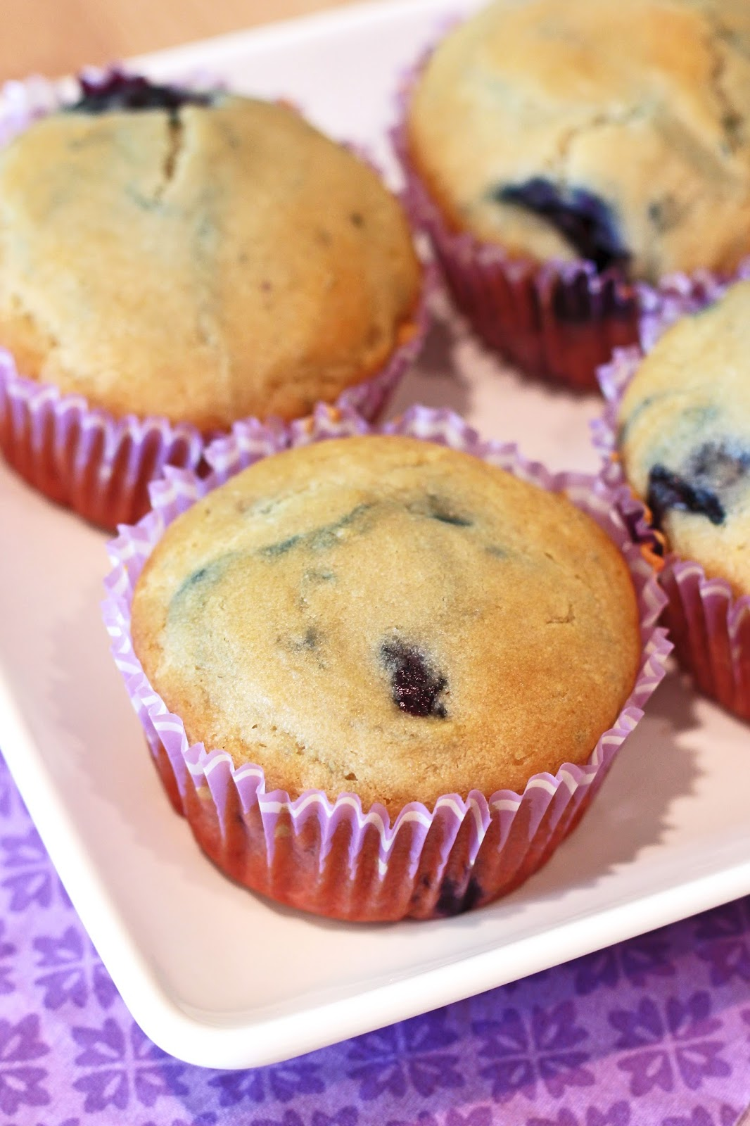 Easy vegan blueberry muffin recipes