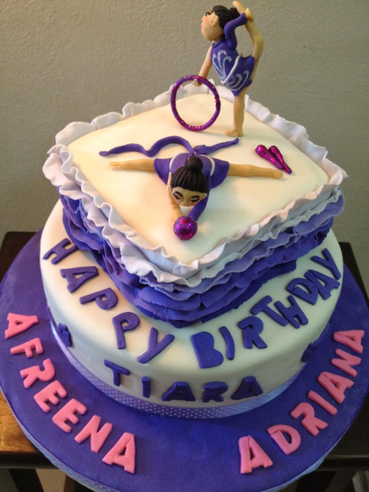 Dairy Queen Gymnastics Cakes