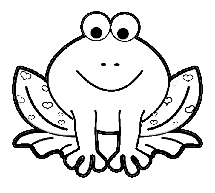cartoon frog coloring pages - photo#3