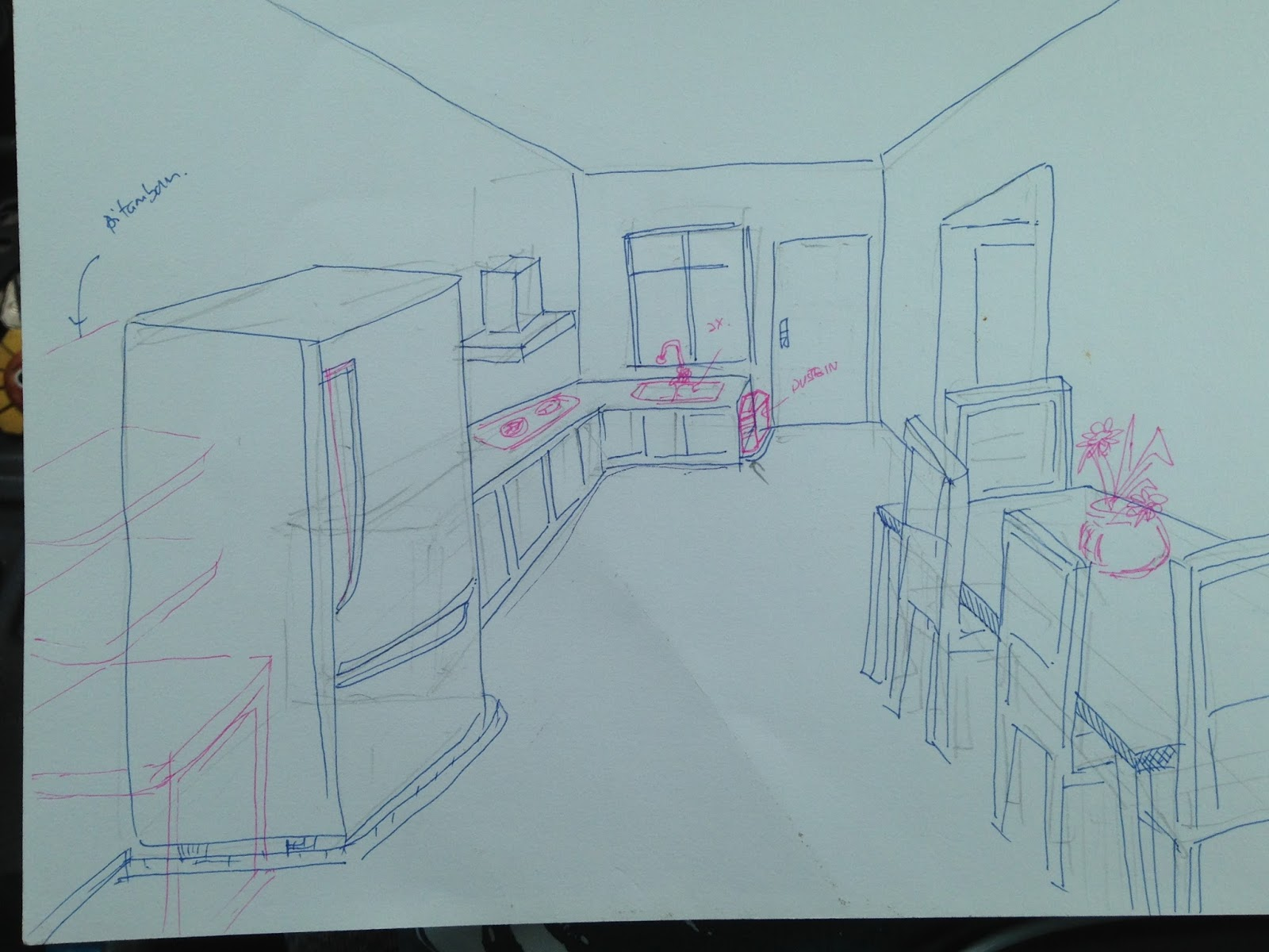 RUMAHKU The Idea of Design & Renovation : Kitchen Of My own