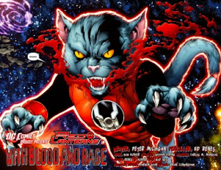 Dex-Starr in Red Lanterns #1 from DC Comics