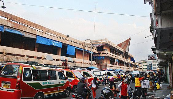 Siantar Menuju Kota Perdagangan - Foto: Pasar Horas atau Pajak Horas Siantar