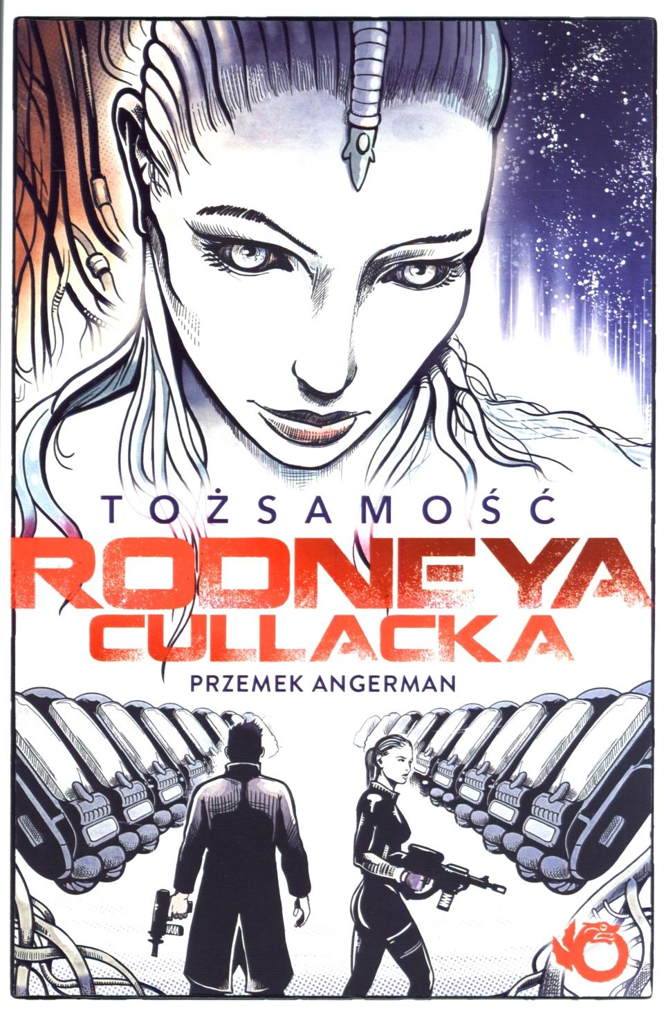 Tożsamość Rodneya Cullacka Przemek Angerman okładka