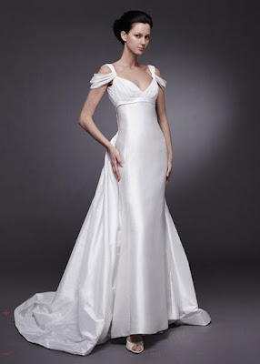 Cap Slevees Wedding Dress