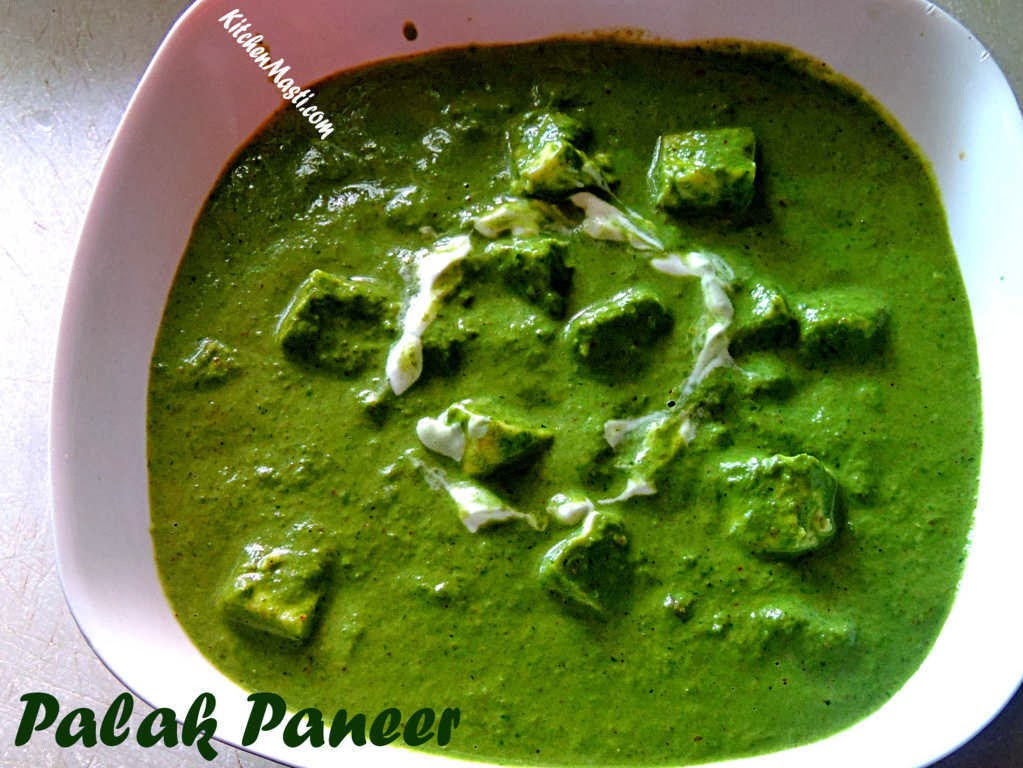 Easy and tasty palak paneer recipe