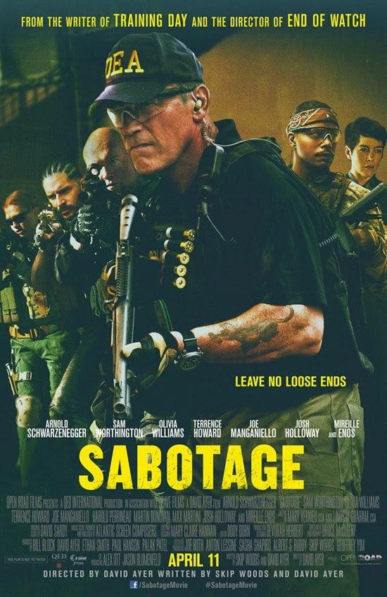 Sabotage (2014) ซาโบทาช คนเหล็กล่านรก [HD][พากย์ไทย]
