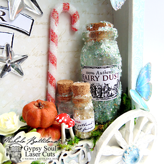 Fairy Godmother Sales Wagon w/ Tutorial - Nichola Battilana