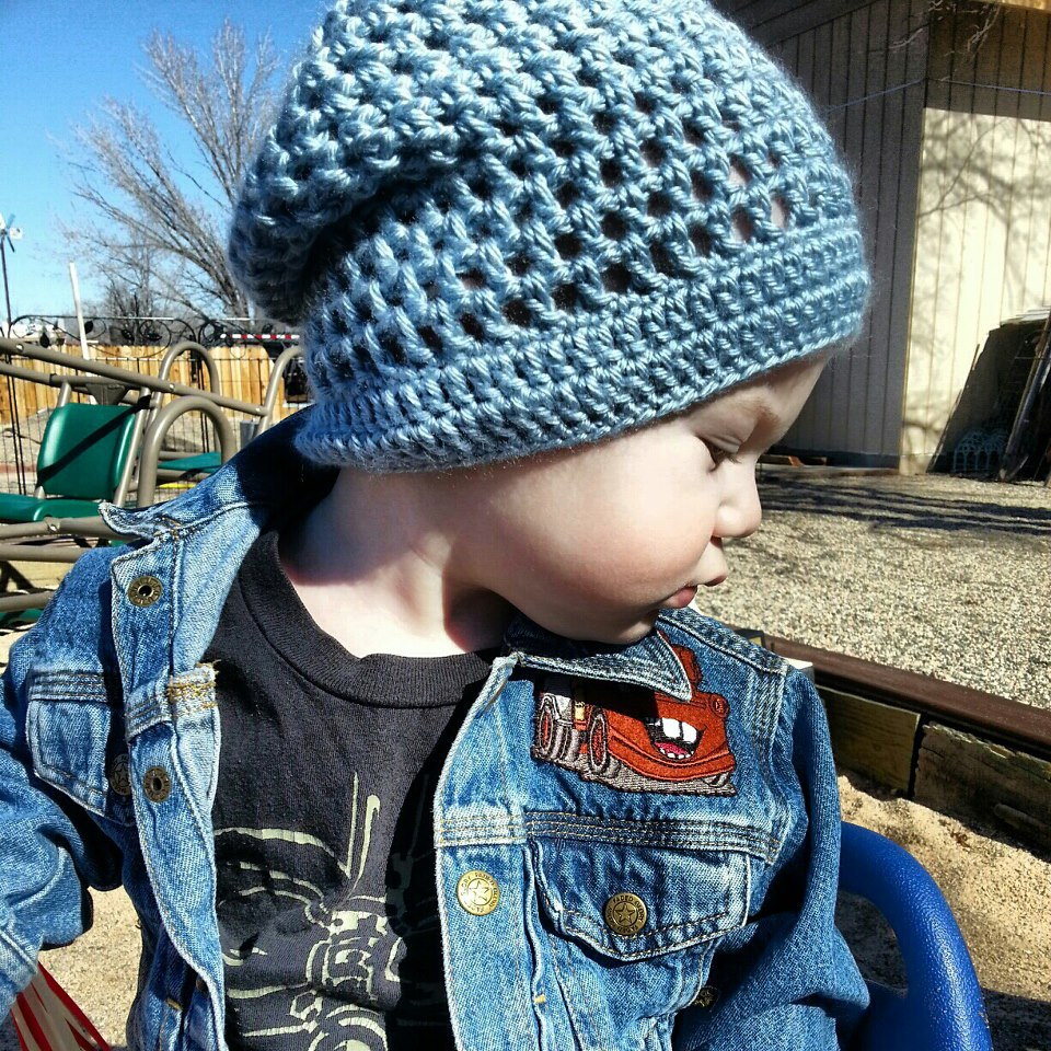 by DD Hines: Slouchy Beanie Pattern