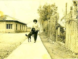 Calle Guardia M. Riquelme en 1960