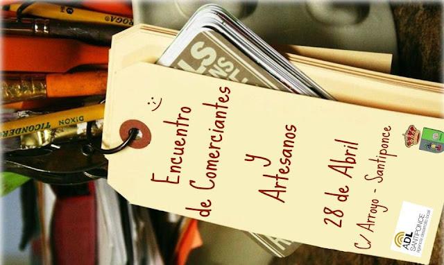 Encuentro de comerciantes y artesanos-Santiponce