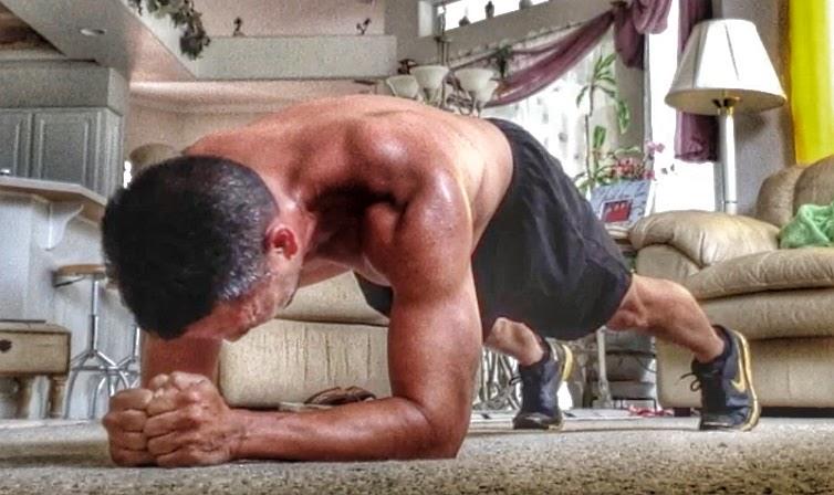 Body Beast Plank Press Up