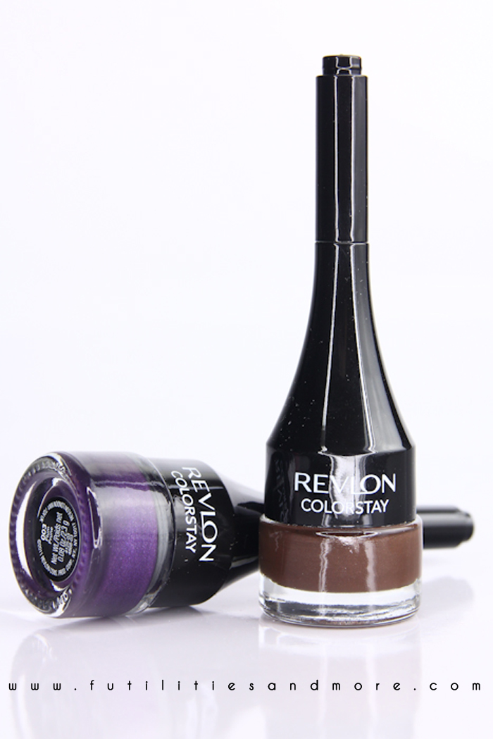 Revlon Colorstay Creme Gel Eyeliner Brown and Plum – Review and Swatches