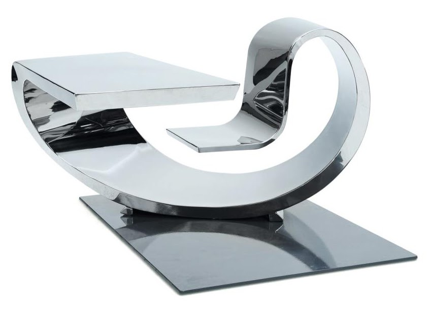 Ultimate space age office desk modern design by for Futuristic office desk
