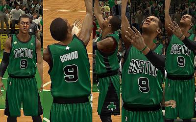 NBA 2K13 Boston Celtics Alternate Jersey Mod