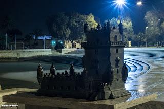 Fotografia nocturna da Torre de Belém
