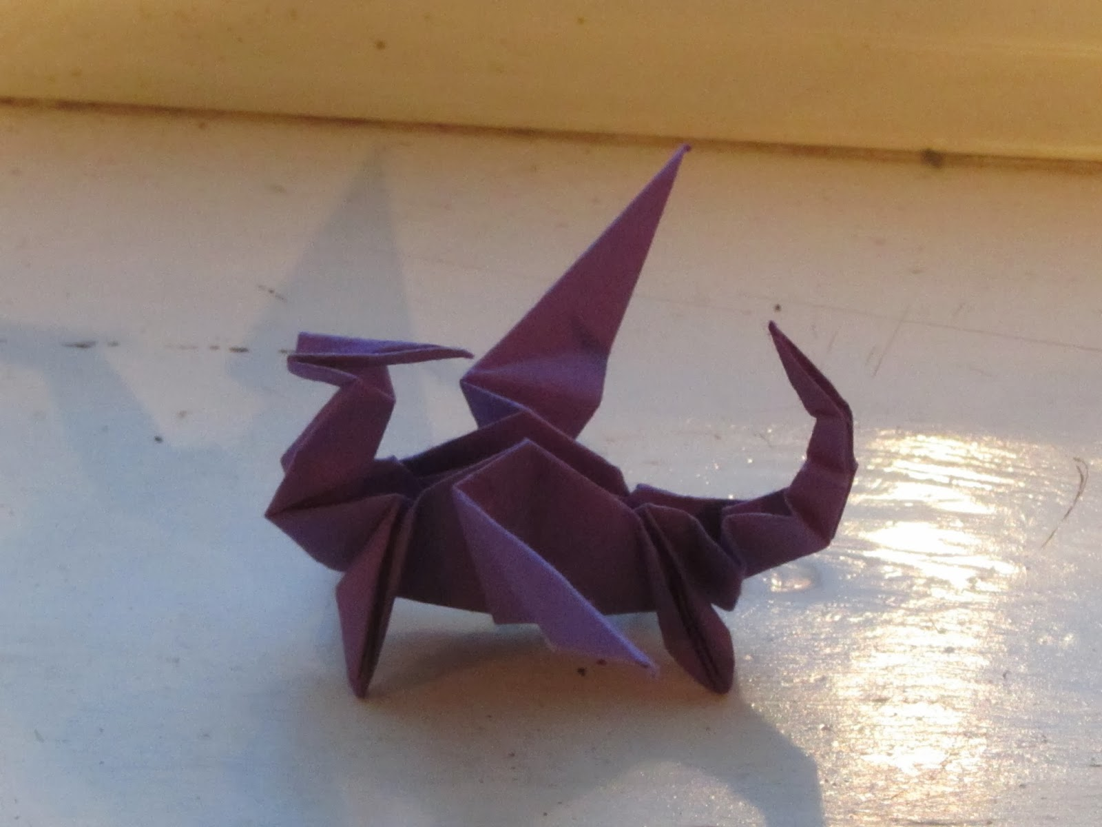 Life yoga and other adventures the japanese art of paper folding my lovely dragon jeuxipadfo Image collections