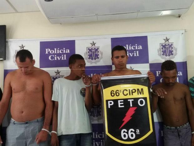 Seis são presos em operação das polícias Civil e Militar em Feira de Santana (Foto: Divulgação/Polícia Civil de Feira de Santana)