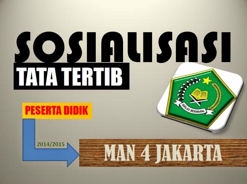 Tata Tertib MAN 4 Jakarta