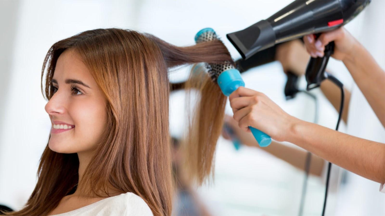 Как правильно укладывать волосы феном в домашних условиях пошагово
