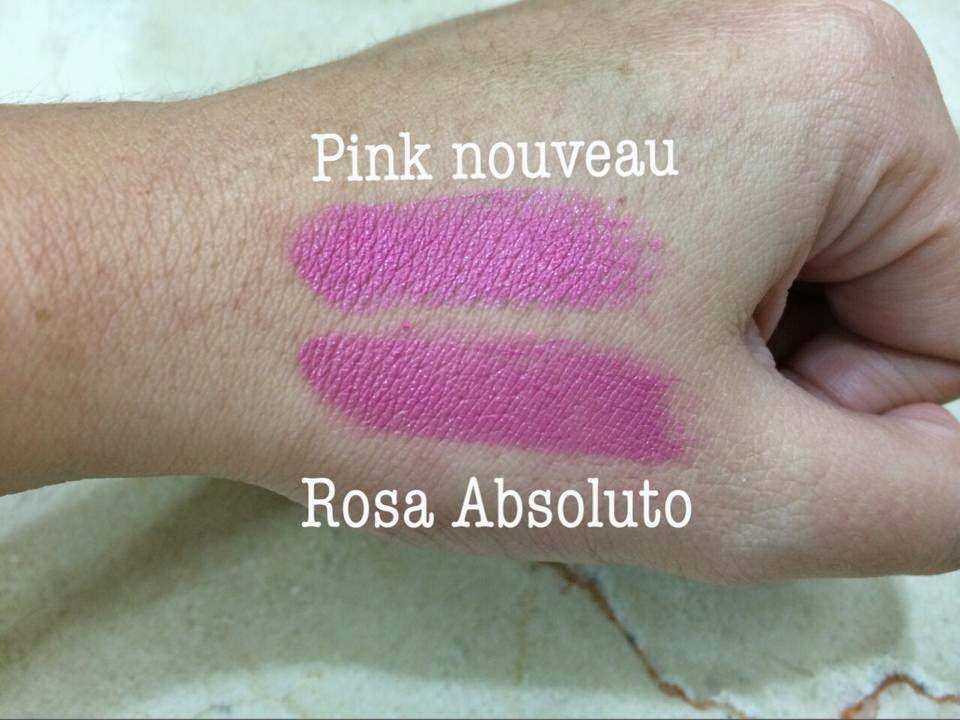 Resenha batom rosa absoluto elke review pink nouveau mac