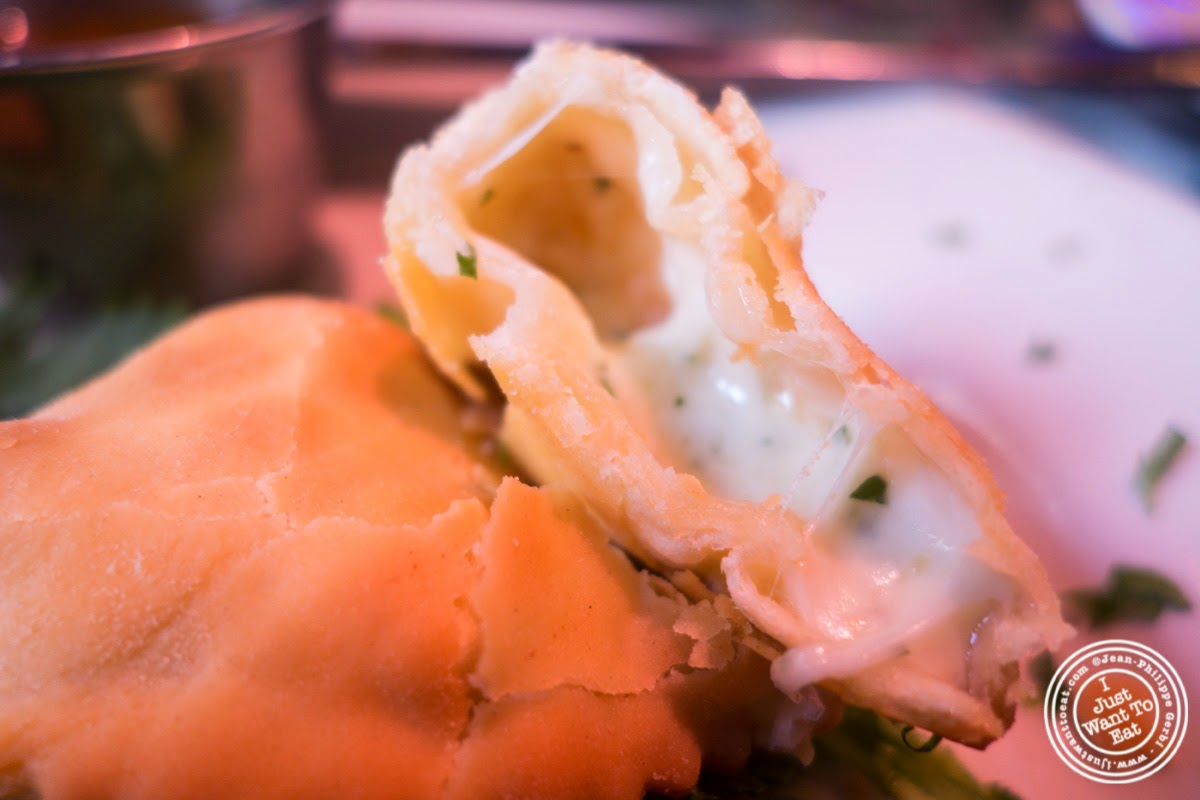 image of cheese empanadas at Sounds Of Brazil SOB's in NY, New York