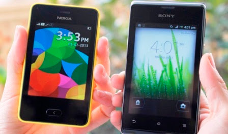 Nokia Asha 501 And Sony Xperia E Is 2 Cheap Phone