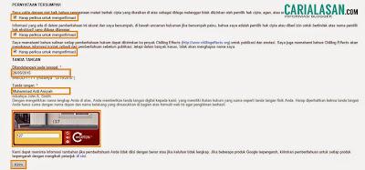 Laporan Pencurian Konten Blog ke Google DMCA