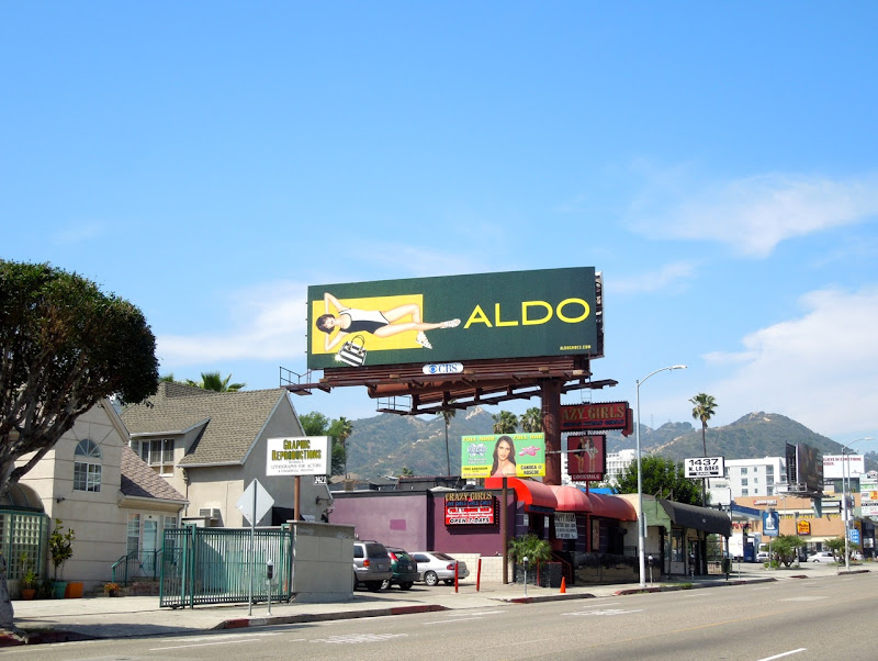 Aldo Shoes SS 2013 billboard