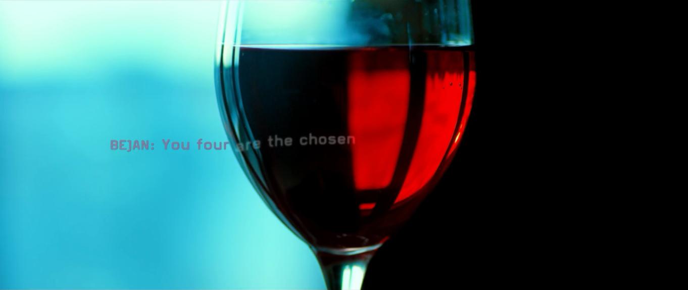 Utopia channel 4 tv show bejan wine glass message board