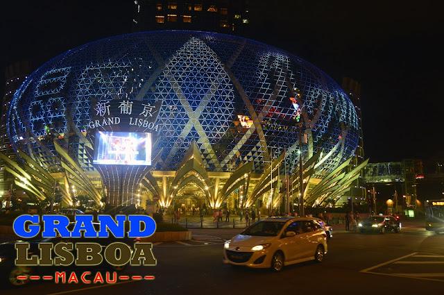 """Grand Lisboa, Macau"""