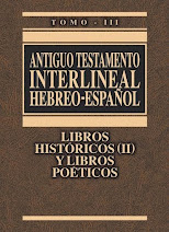 Antiguo Testamento Interlineal Hebreo-Español Vol. 3