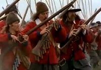 Video: Firing a matchlock musket