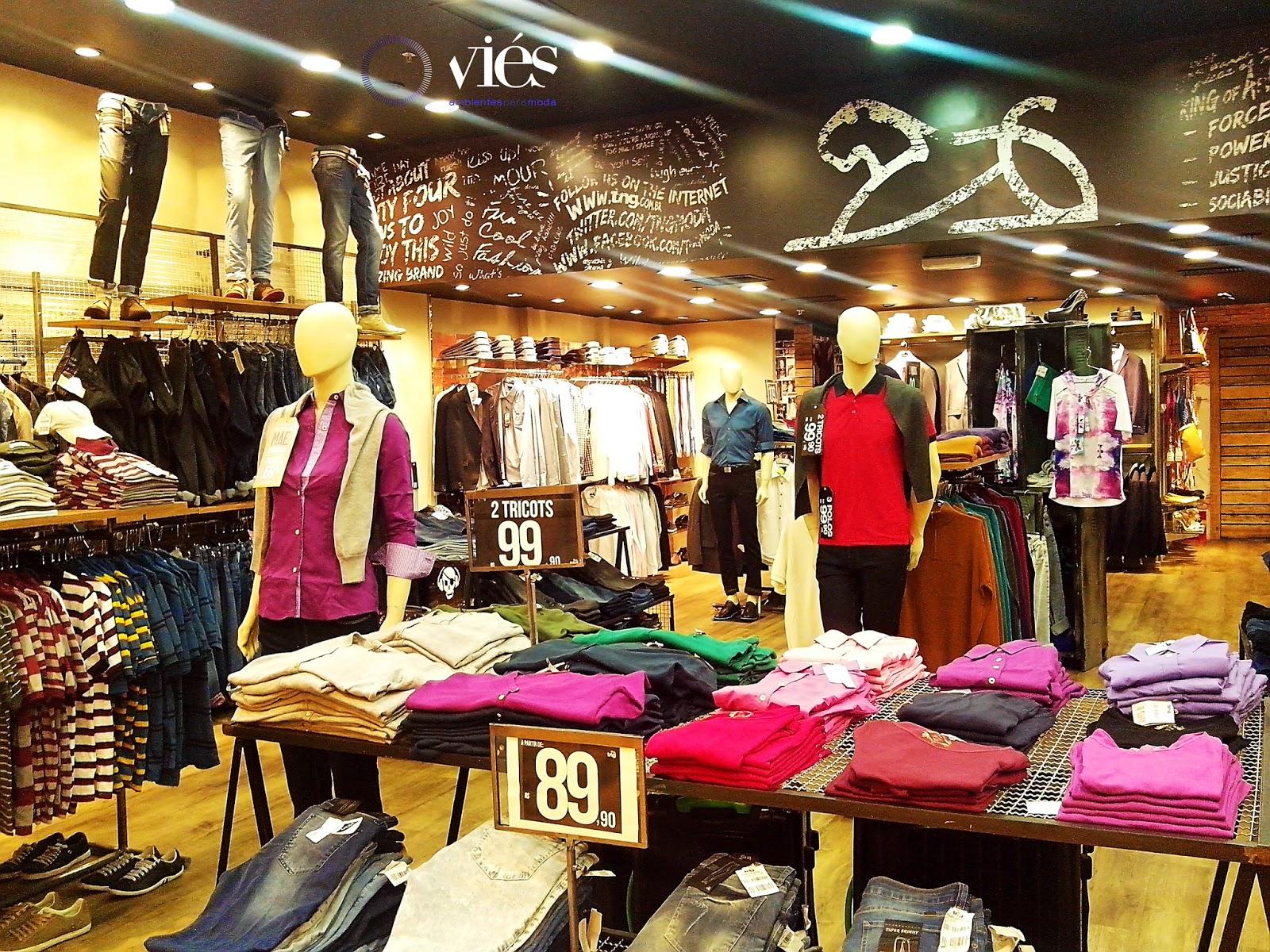 Interior da loja TNG