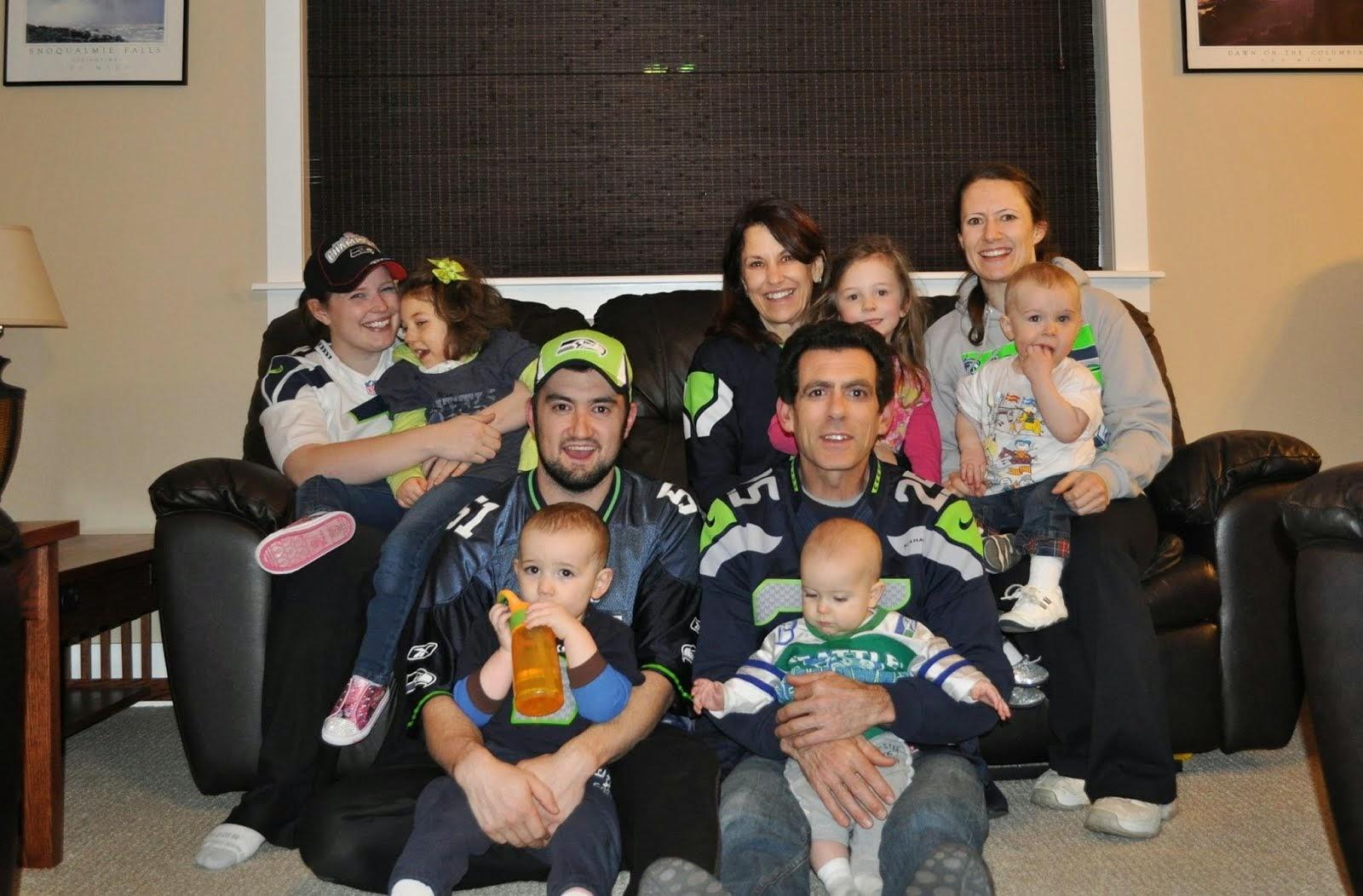 2014: Super Bowl Seahawk Fans