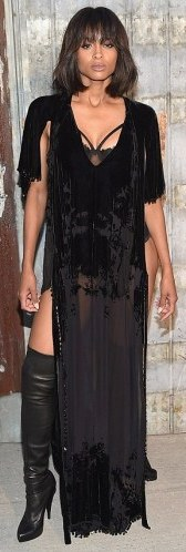Ciara's outfit to Givenchy show (photos) 2C33F83900000578-3231686-image-m-117_1442037667209