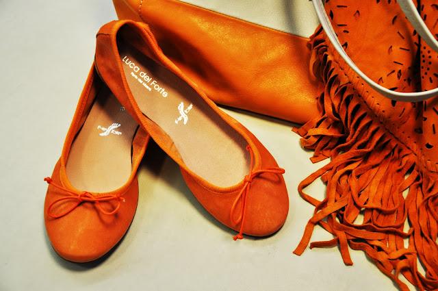 luca del forte scarpe, genova, ballerine