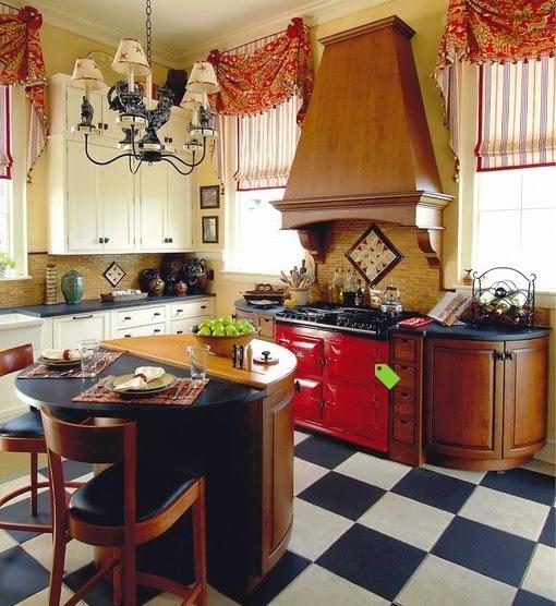 Rideaux originaux pour cuisine tissu figeac tous les - Rideaux pour cuisine originaux ...