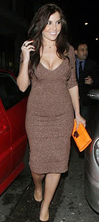 Imogen Thomas Dress, Imogen Thomas Bronze Dress