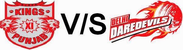 Kings XI Punjab vs Delhi Daredevils Live Score