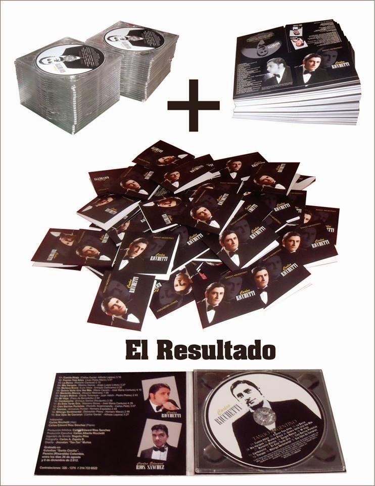 """¡SALIO LA SEGUNDA EDICION DEL CD """"TANGO ARGENTINO"""" DE CARLOS RICCHETTI!"""