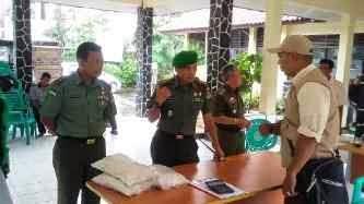Dandim 0508/Depok Tinjau Operasi Pasar Beras di Enam Kecamatan
