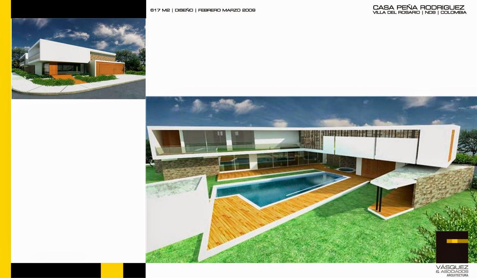 Vasquez y asociados arquitectura ltda casa pr for Genesis arquitectura y diseno ltda